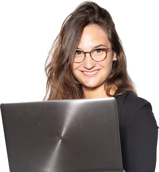 Katja Deutscher, Kreativdirektorin der Webseiten Manufaktur Deutscher - Webdesign aus der Schweiz