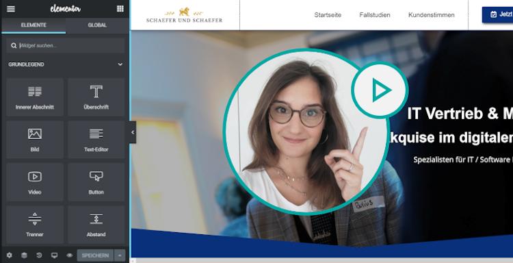 Bauen Sie Ihre eigene Website mit der Webseiten Manufaktur Deutscher - Webdesign aus der Schweiz