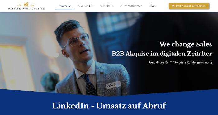 Ihre Seite im Consultig Bereich - Webseiten Manufaktur Deutscher: Webdesign aus der Schweiz