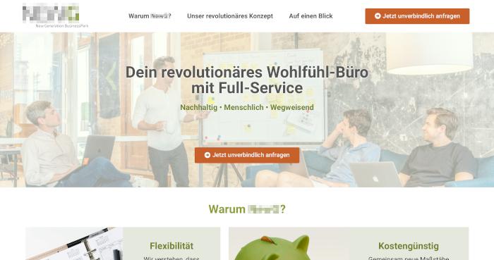 Ihre Seite in der Immobilienbranche - Webseiten Manufaktur Deutscher: Webdesign aus der Schweiz