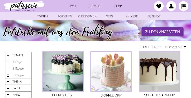 Ihr Online Shop aus der Webseiten Manufaktur Deutscher - Webdesign aus der Schweiz
